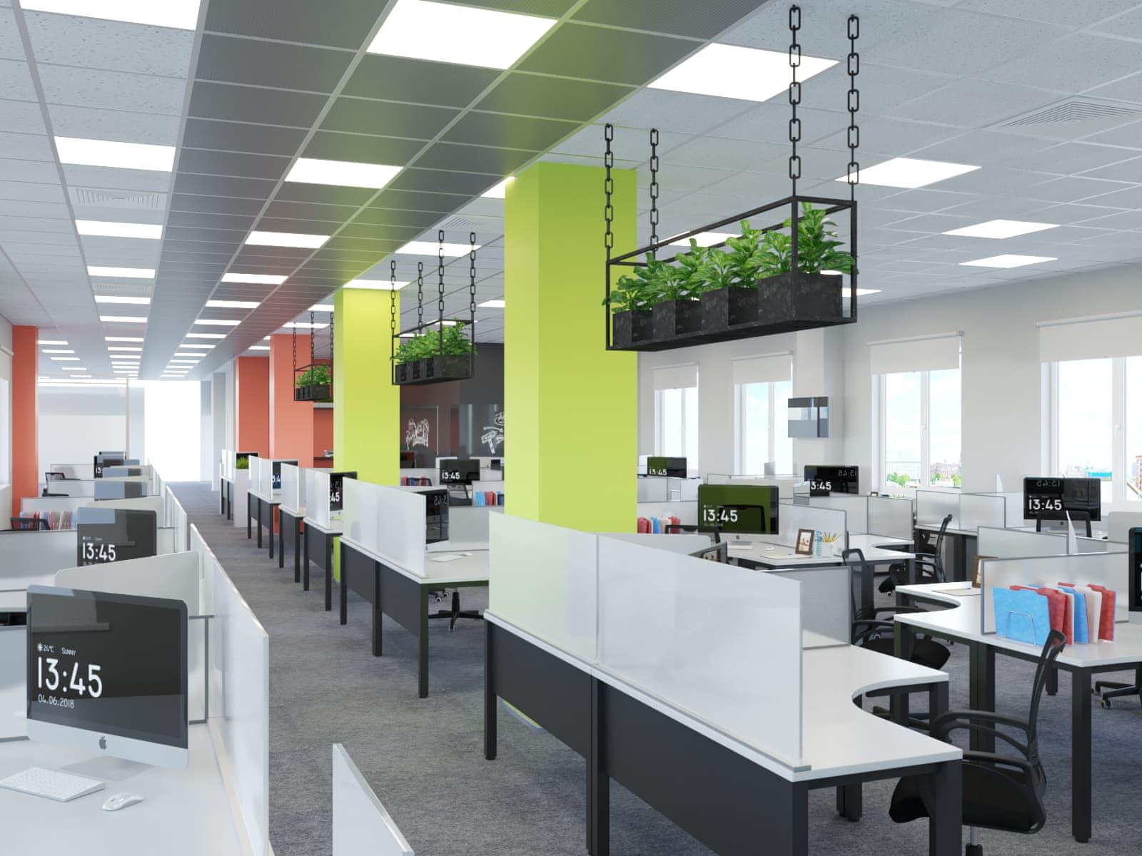 Дизайны офисов