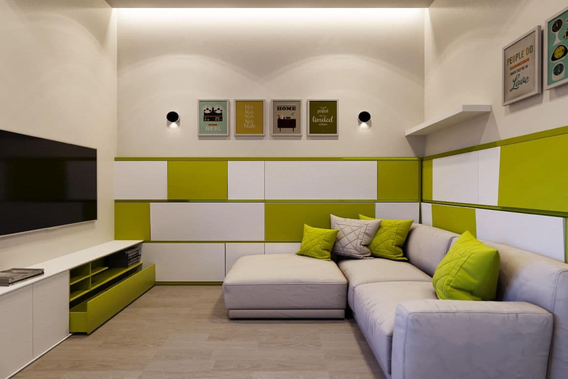 Дизайн помещения под ключ