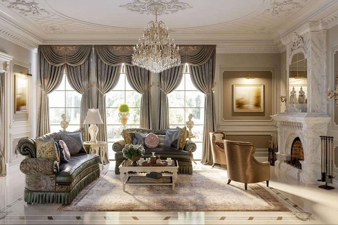Элитный дизайн квартиры от дизайнера