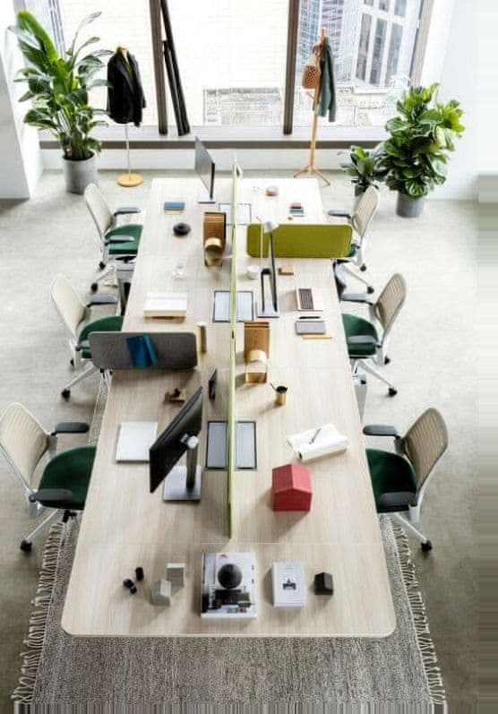 Интерьер маленького офиса