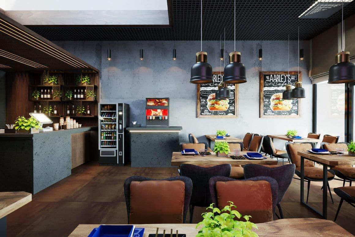 Дизайн кафе и ресторана от профессиональной студии дизайна