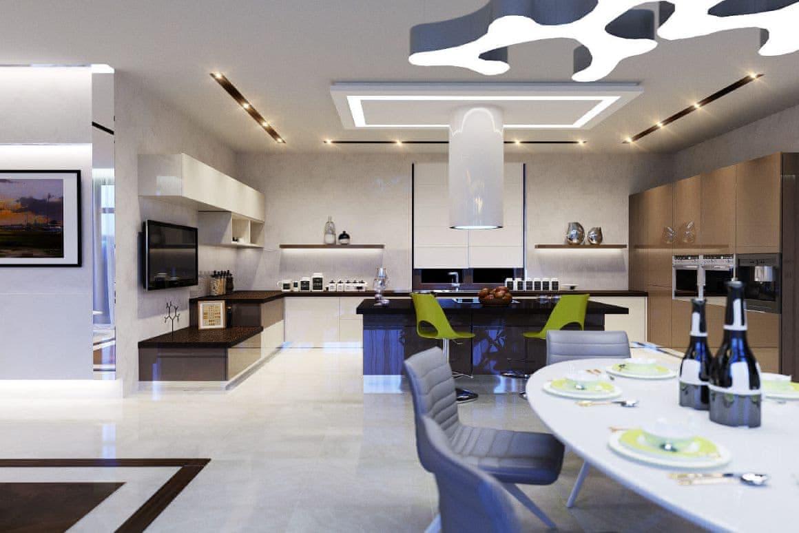 Элитные интерьеры квартир