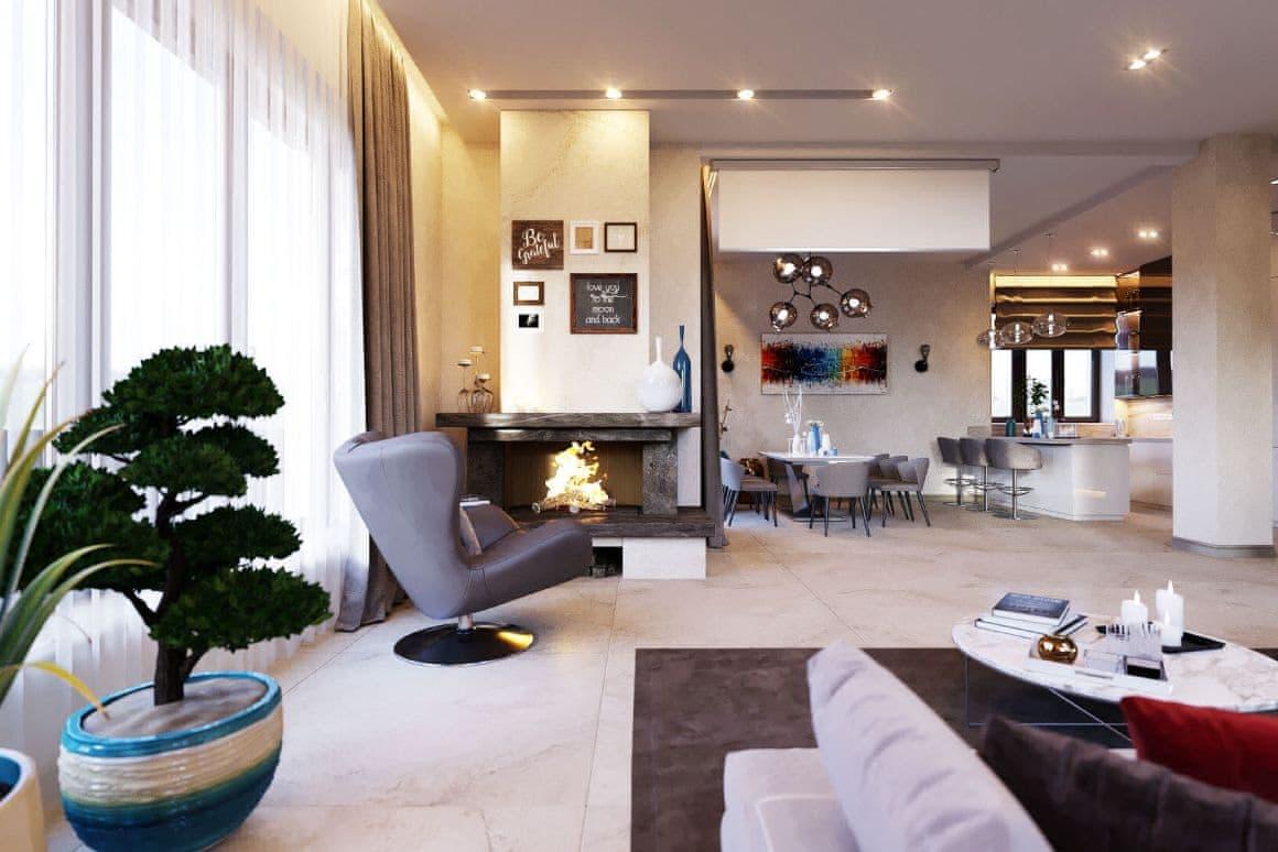 Предметы для элитного VIP интерьера дома